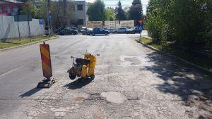 Asfaltare Parcare si Plombare Gropi la ROMEXPO 2